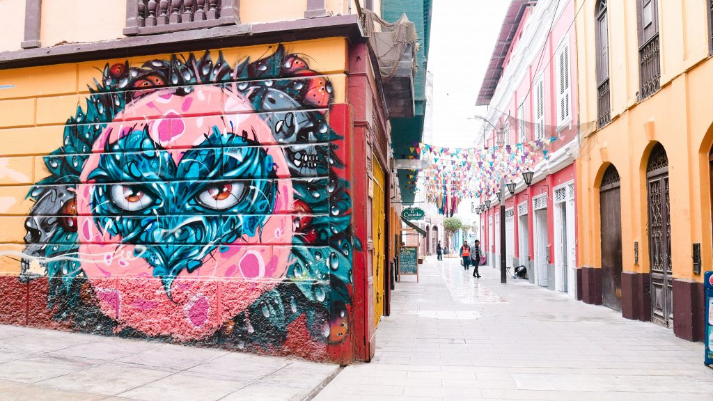 The streets of Callao are incredibly quaint and artsy