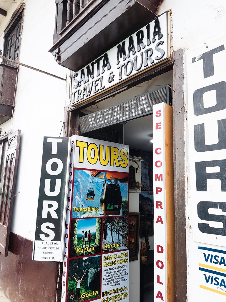 Santa Maria Tours offers tours to all the main attractions and can book bus tickets as well