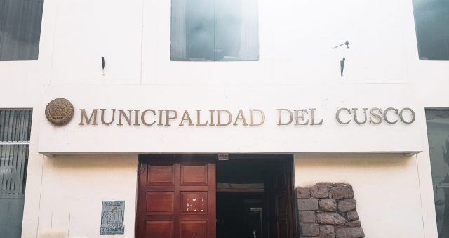 The COSITUC office is inside the Cusco Municipality building