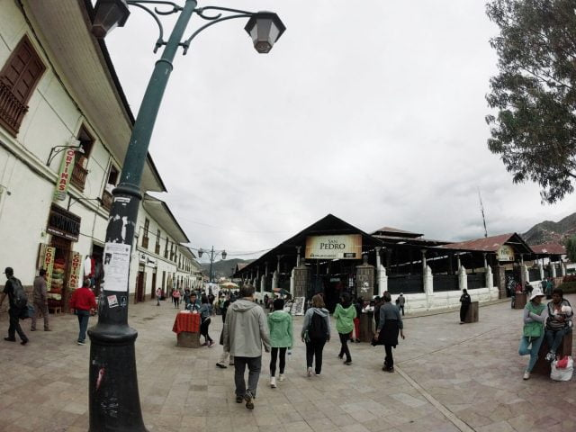 The San Pedro Market is located just a couple of blocks from the Plaza de Armas