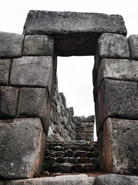 One of the amazing features at the Cusco ruins