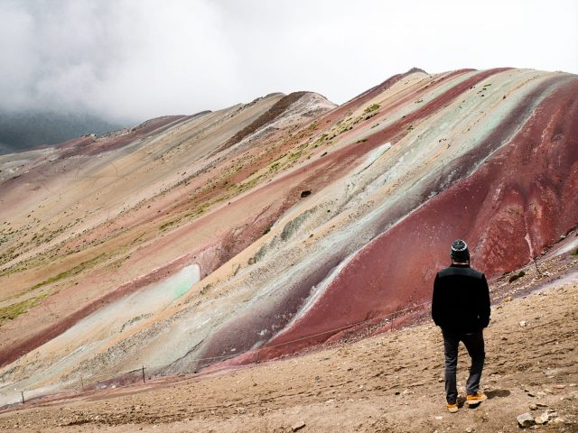 Rainbow Mountain is one of the few great tours we took from Cusco