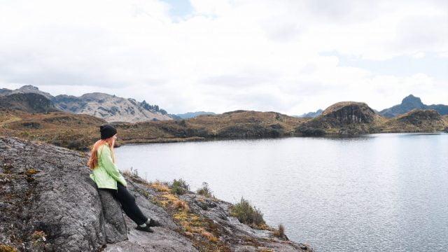 Views of Laguna Toreadora