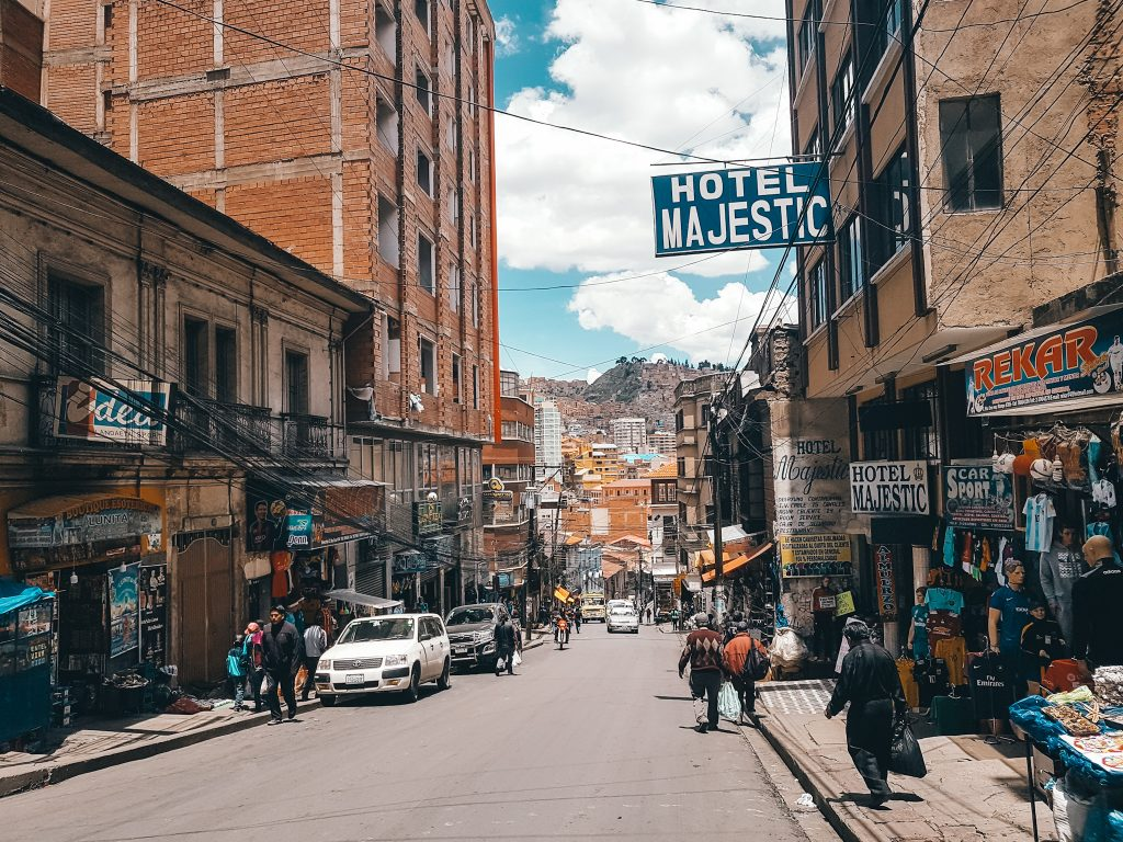 Hotels and Hostels are in no shortage in La Paz