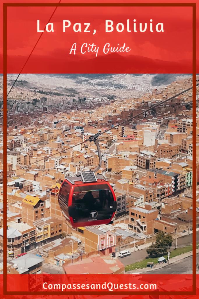La Paz City Guide Pin