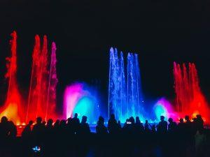 Parque de la Familia in Cochabamba: Aguas Danzantes Show