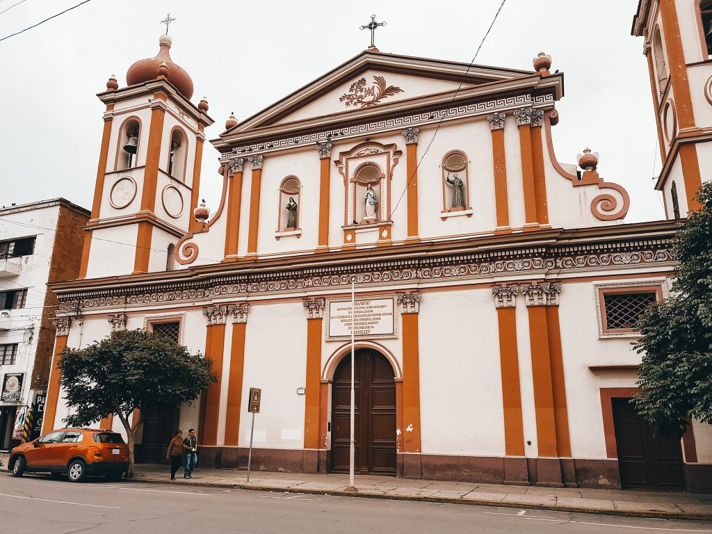 You'll see some really beautiful architecture when exploring Cochabamba