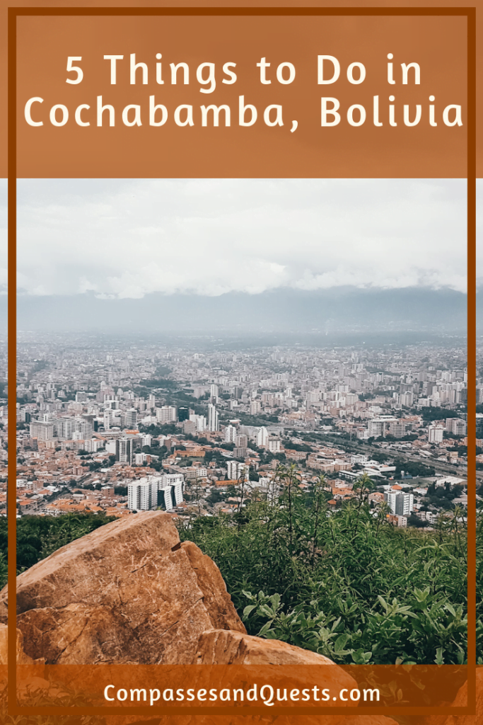 Things to do in Cochabamba Pin