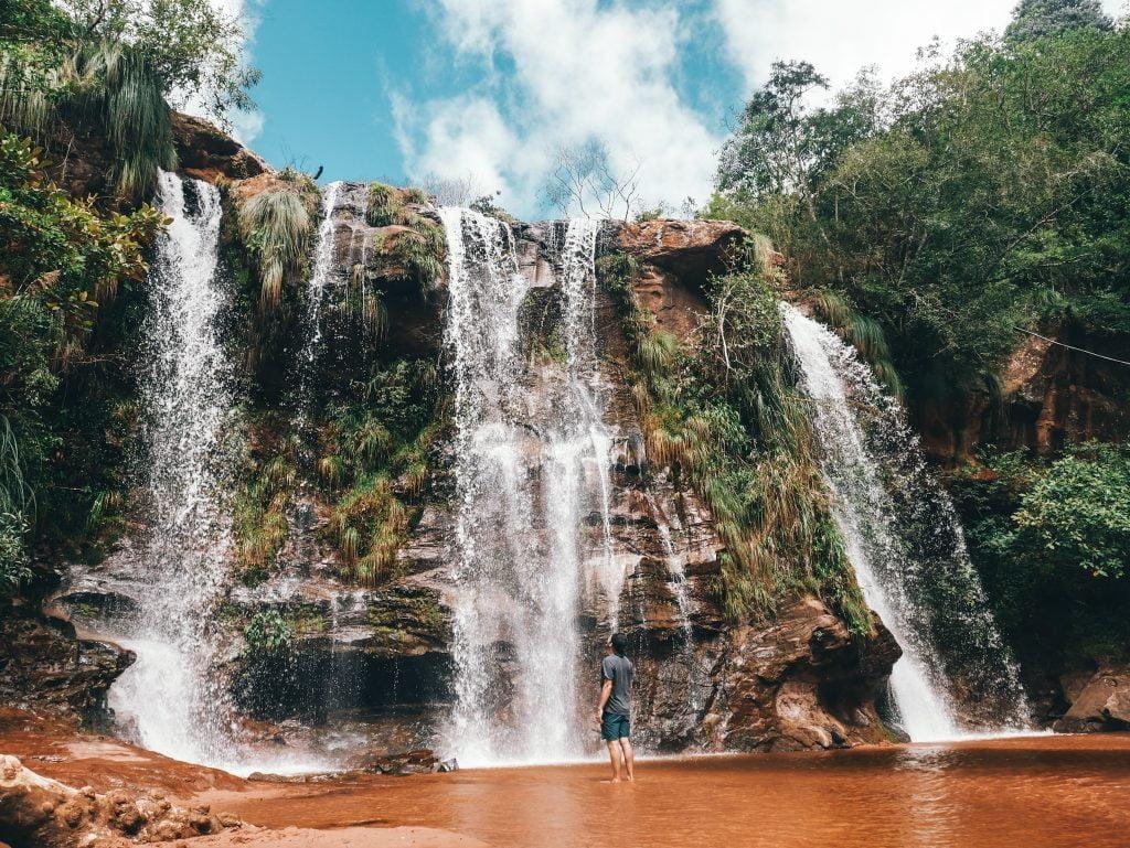 Las Cuevas Waterfall