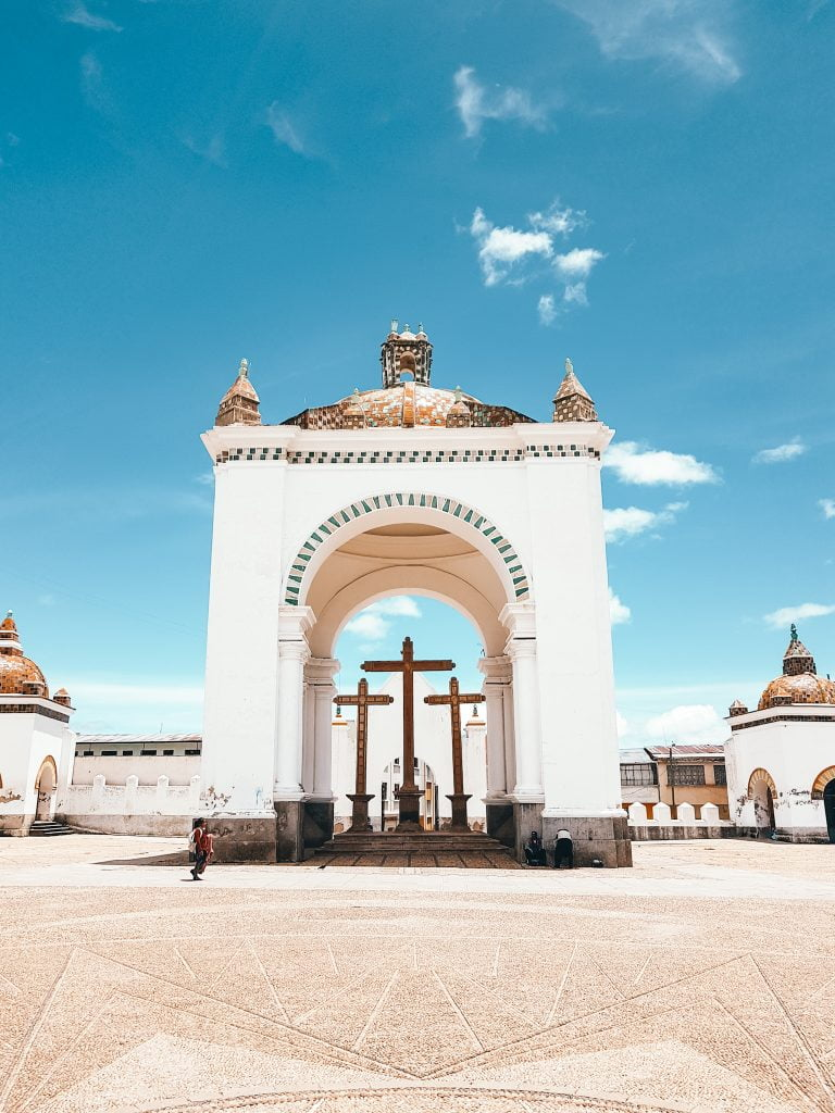 The beautiful Basilica of Our Lady of Copacabana