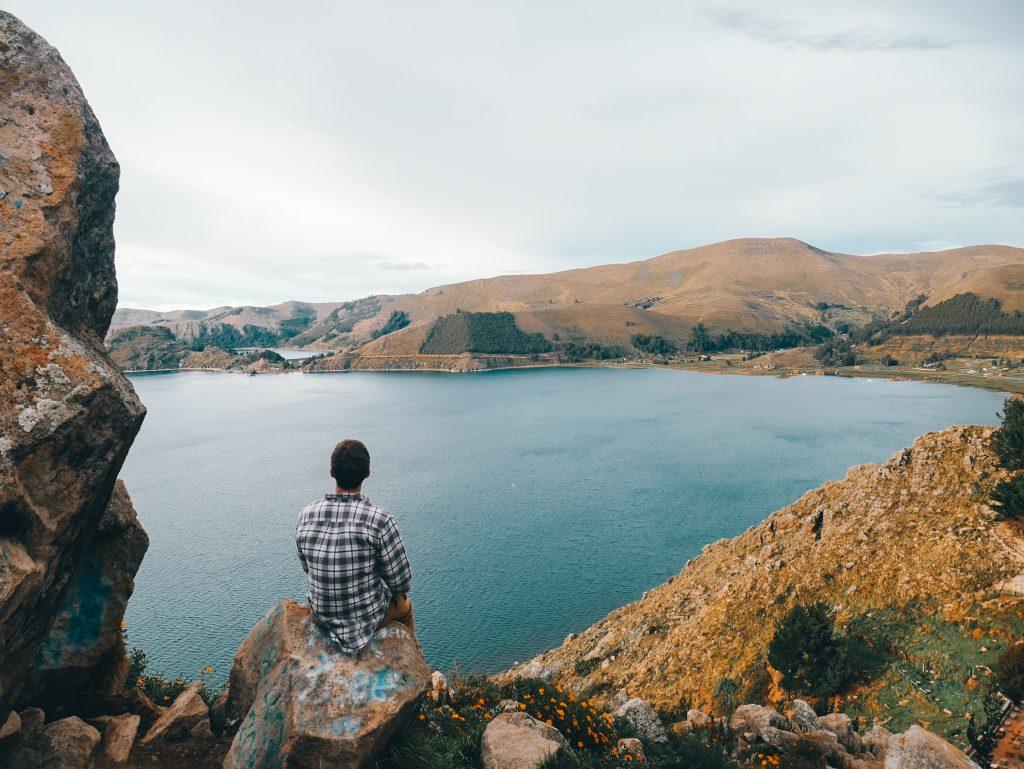 Beautiful Lake Titicaca views