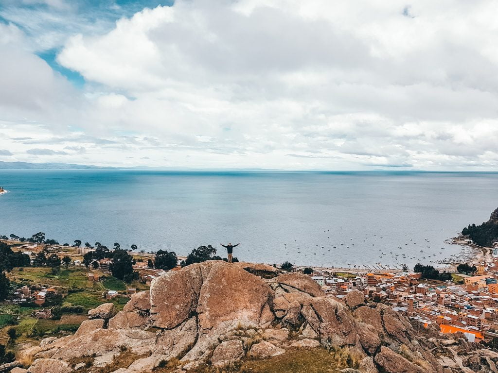 Views of Copacabana and Lake Titicaca