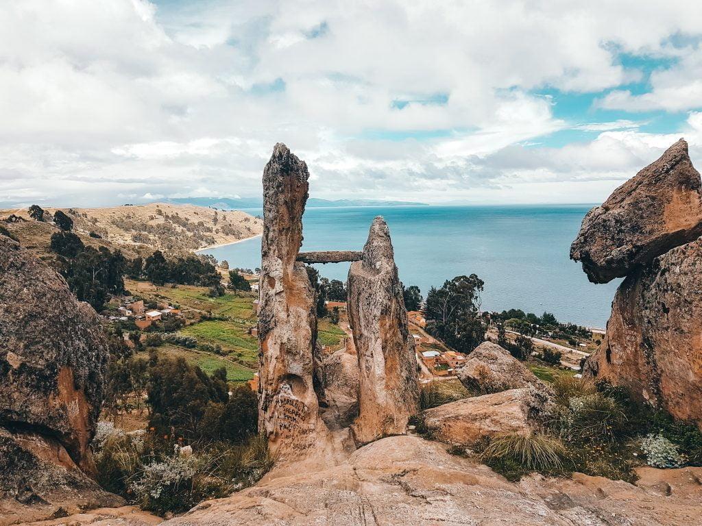 The view from La Horca Del Inca
