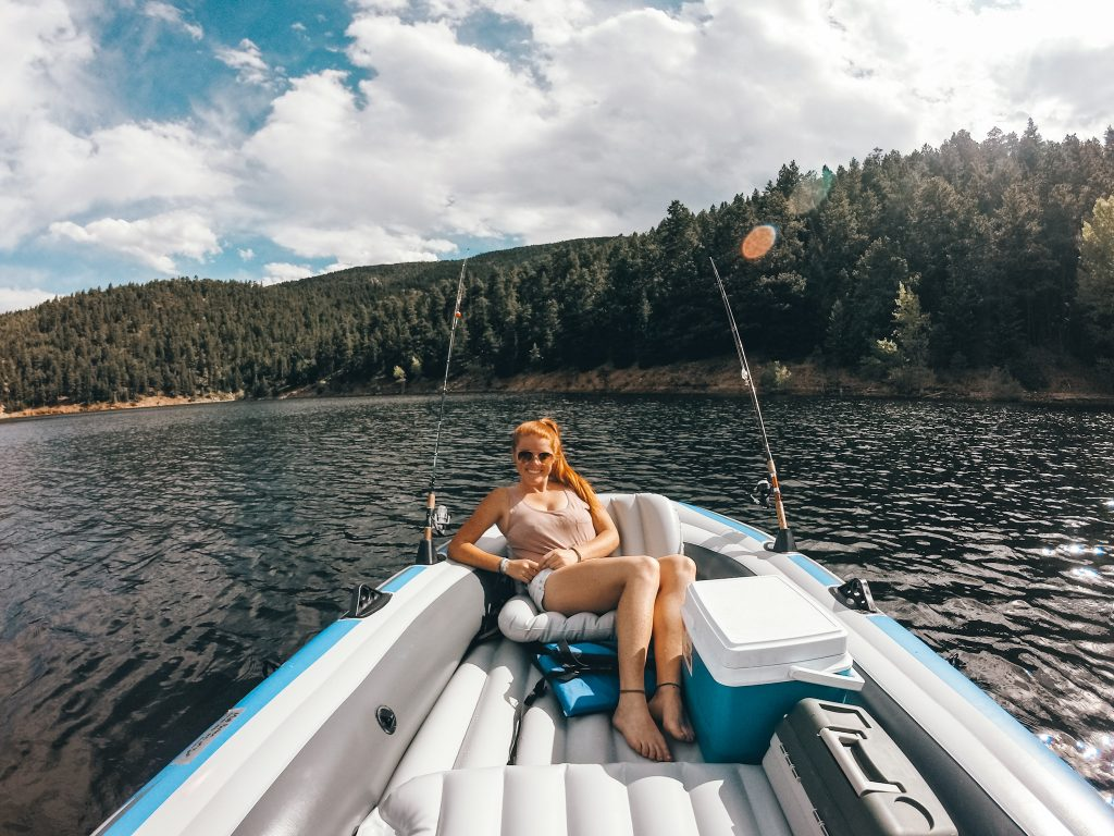 We love spending time on Colorado's mountain lakes