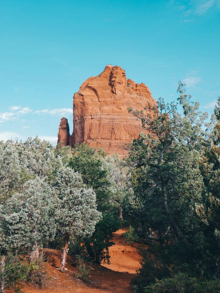 The Mitten as seen by Jordan Road Trailhead