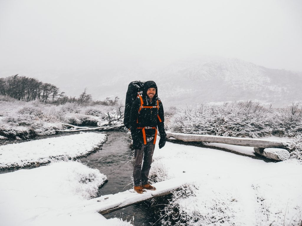 Quality boots are the most essential item on our winter day hike packing list. Especially in conditions like this!