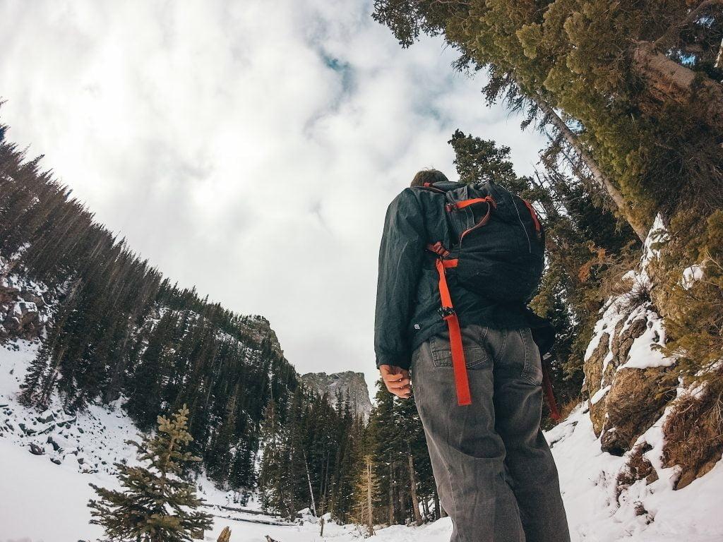 We take the CamelBak for shorter hikes on warmer winter days