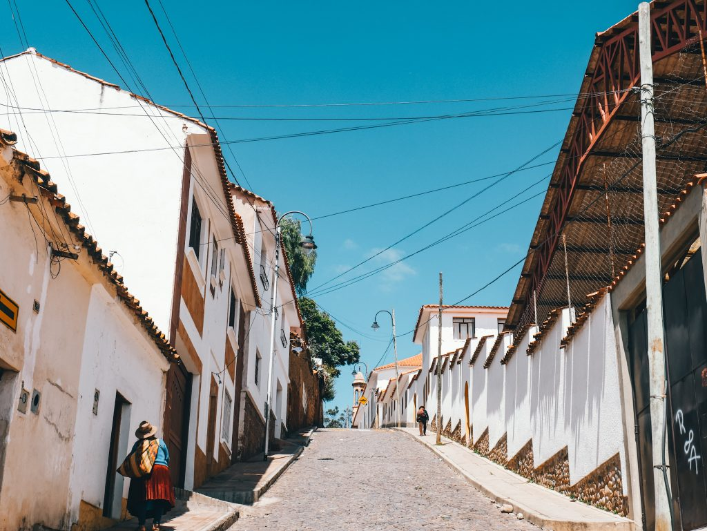 The white streets of Sucre
