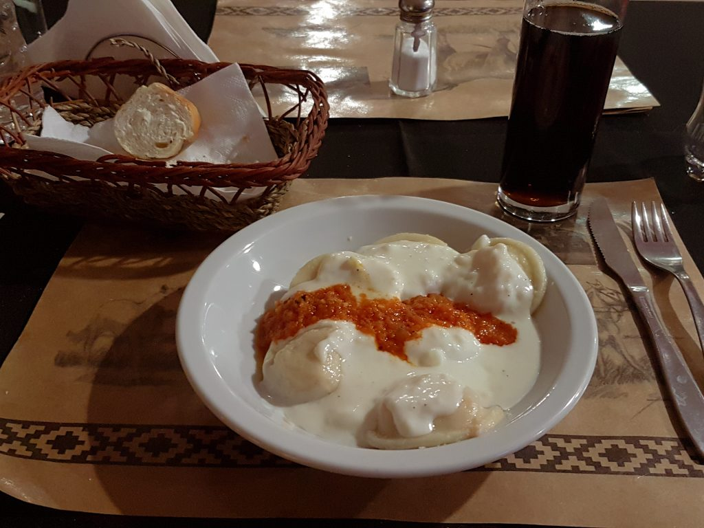 Tasty Ravioli and other Italian dishes are common in Ushuaia