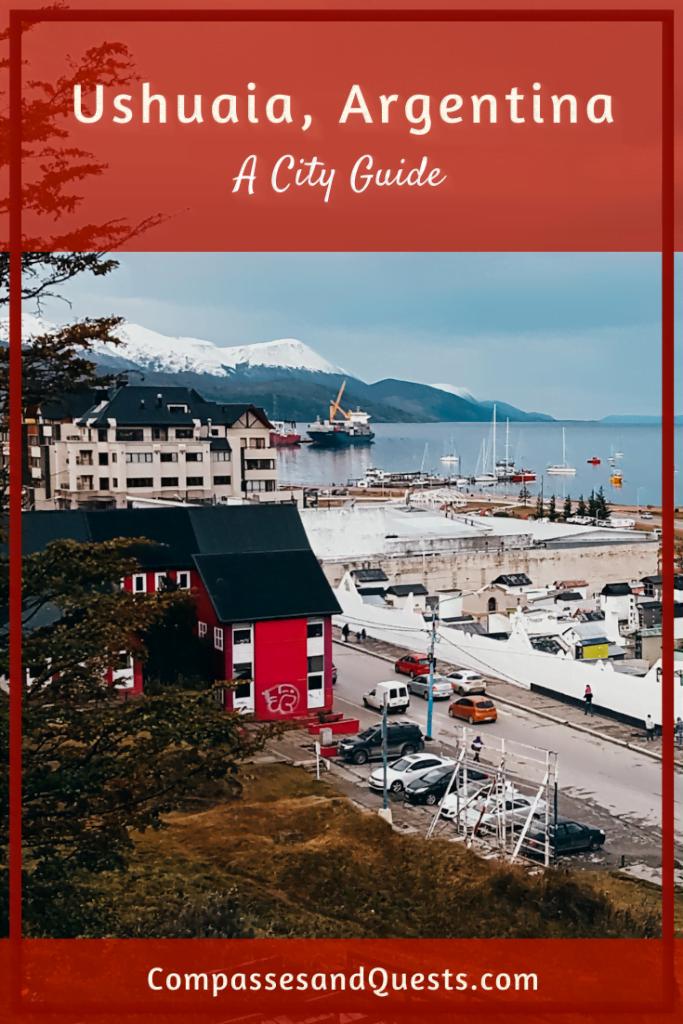 Ushuaia City Guide Pin