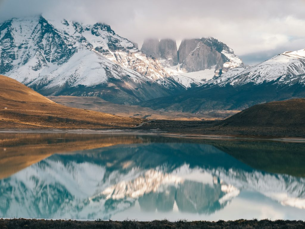 A fresh dusting of snow in Torres del Paine